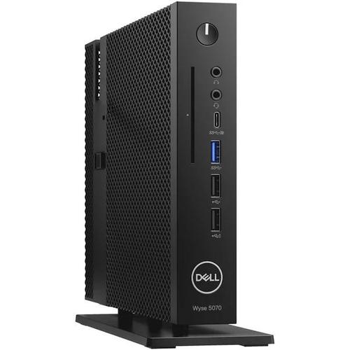 Dell Wyse 5070 Thin Client Intel Celeron J4105 4GB 16GB eMMC no Graphics TPM Vertical Stand No Wifi No Keyboard