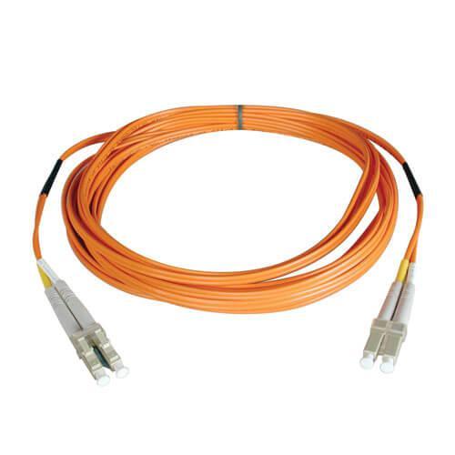 Tripp Lite Duplex Multimode 50 125 Fiber Patch Cable LC LC 2M
