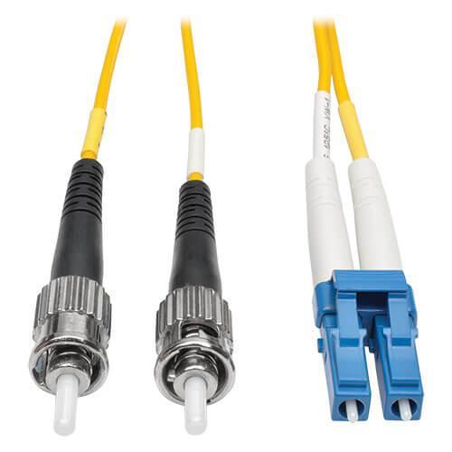 Tripp Lite Duplex Singlemode 8.3 125 Fiber Patch Cable LC ST 10M