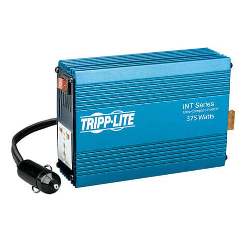 Tripp Lite 375W INT Series Ultra Compact Car Inverter with 1 Universal 230V 50Hz Outlet
