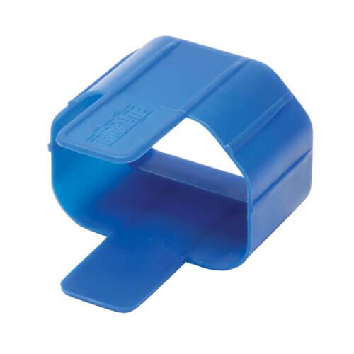 Tripp Lite Plug Lock Inserts C14 power cord to C13 outlet Blue 100 pack