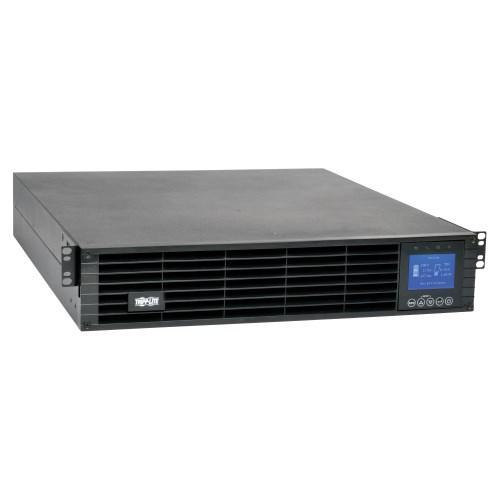 Tripp Lite 208 230V 2200VA 1.98kW Double Conversion UPS 9 Outlets Extended Run Card Slot LCD USB DB9 2U