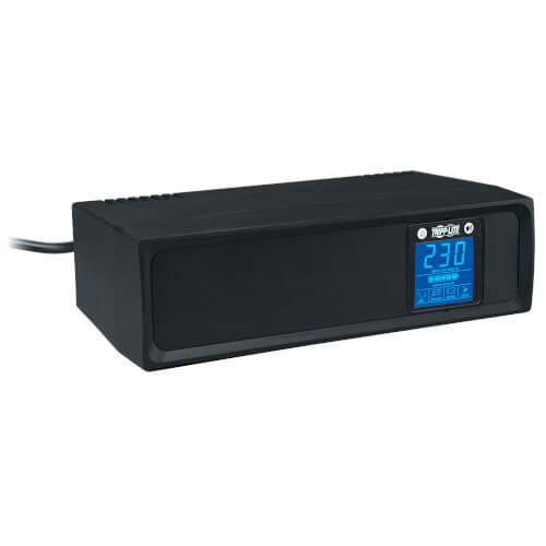 Tripp Lite SmartPro 230V 1kVA 500W Line Interactive UPS Tower LCD USB 6 Outlets