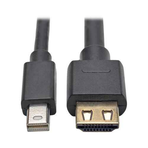 Tripp Lite Mini DisplayPort 1.2 to HDMI Adapter Cable Active 4K 60Hz 6ft
