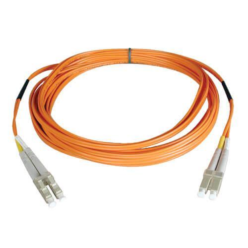 Tripp Lite Duplex Multimode 62.5 125 Fiber Patch Cable LC LC 30M
