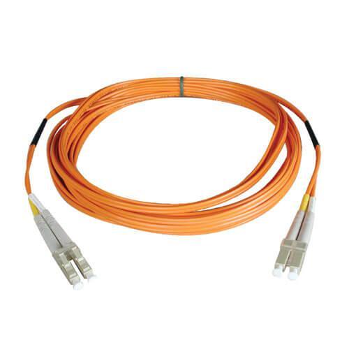 Tripp Lite Duplex Multimode 62.5 125 Fiber Patch Cable LC LC 2M