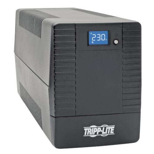 Tripp Lite 1.5kVA 900W Line Interactive UPS with 8 C13 Outlets AVR 230V C14 Inlet LCD USB Tower