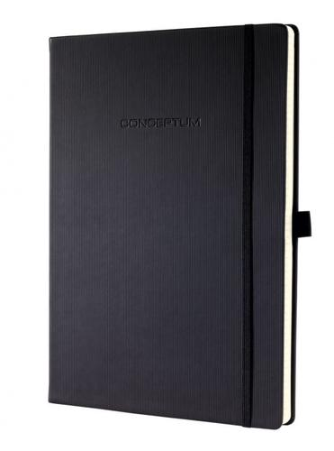 Sigel CONCEPTUM A4 Casebound Hard Cover Notebook Ruled 194 Pages Black 3 for 2 Offer