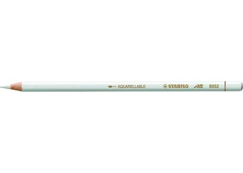 STABILO All Pencils White (Pack 12) 8052
