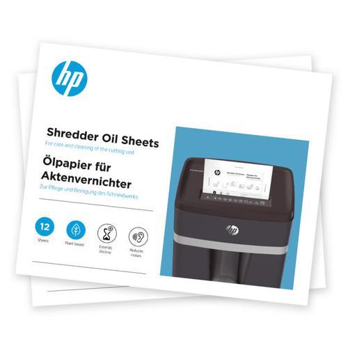 HP Shredder Oil Sheets 9133