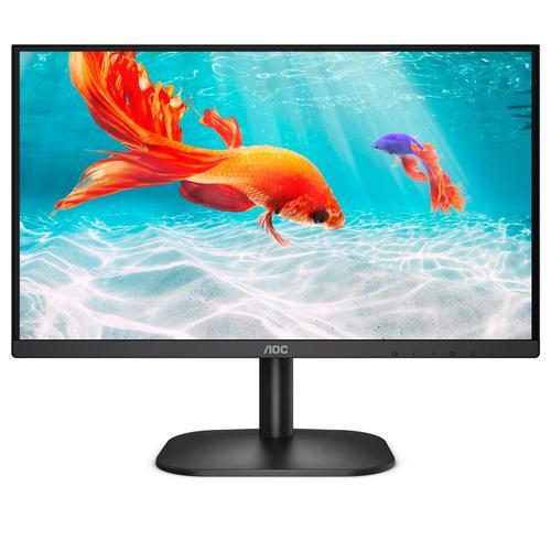 AOC Basic Line 22B2DA 21.5 Inch 1920 x 1080 Full HD 1080p 75Hz 4ms MM HDMI VGA DVI LED Monitor Black