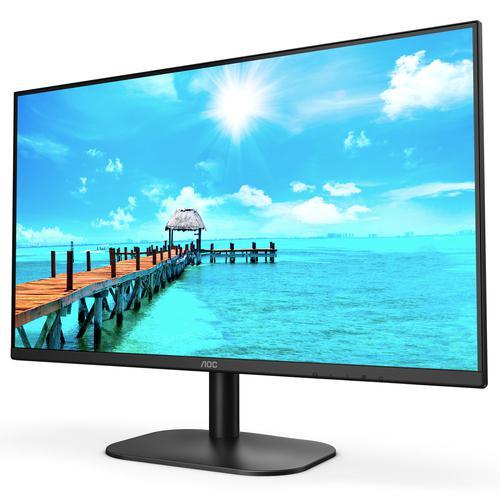 AOC Basic Line 27B2DA 27 Inch 1920 x 1080 Full HD 1080p 75Hz IPS MM HDMI VGA DVI LED Monitor Black