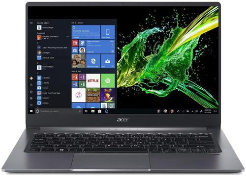Acer Swift3 SF314 57G 14 Inch Intel Core i5 1035G1 8GB RAM 256GB SSD NVMe NVIDIA GeForce MX350 Iron Windows 10 Pro 64 Bit Notebook