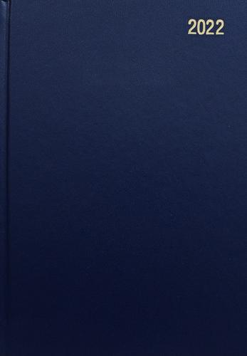 ValueX Diary A4 Day Per Page 2022 BL BUSA41 Blue