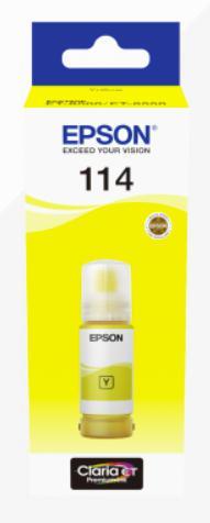 Epson 114 Eco Tank Yellow Ink cartridge Standard capacity 70ml - C13T07B440