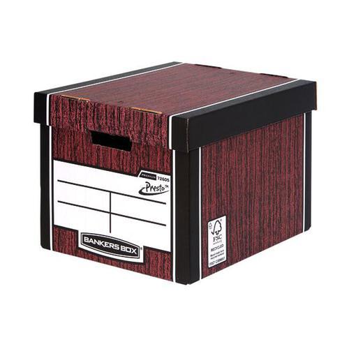 Premium Tall Box-Woodgrain (Fsc) Storage Box  5 Pack 3 for 2