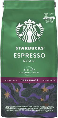 STARBUCKS Espresso Dark Roast Finely Ground Coffee 200g 12461186