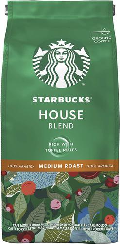 STARBUCKS House Blend Medium Roast Ground Coffee 200g 12400244