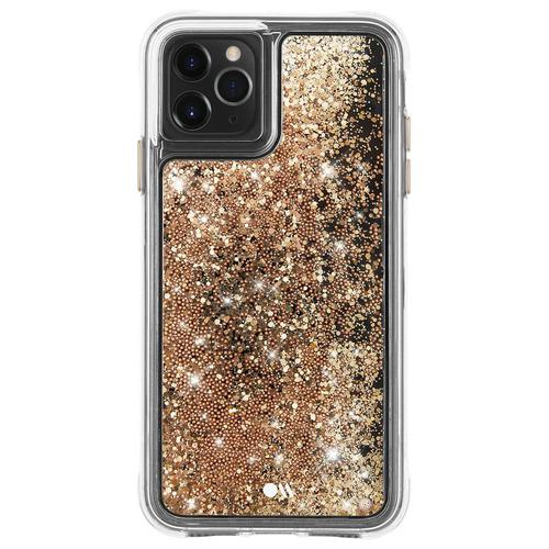 Case Mate Waterfall Gold iPhone XS Max Phone Case Dust Resistant Scratch Resistant Drop Proof