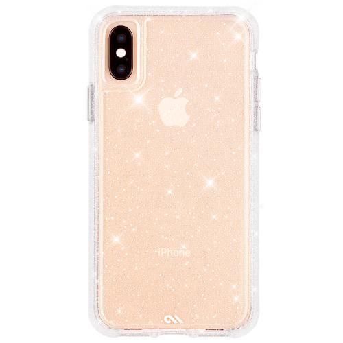 Case Mate Sheer Crystal Clear iPhone XS Max Case Dust Resistant Scratch Resistant Drop Proof