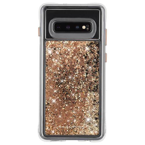Case Mate Waterfall Gold Samsung Galaxy S10e Phone Case Drop Proof Scratch Resistant Dust Resistant