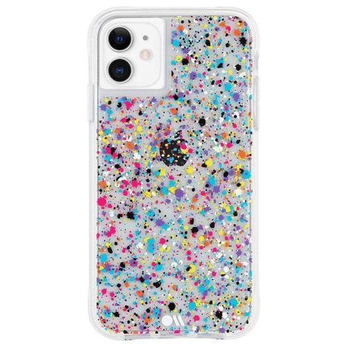 Case Mate Tough Spray Print Multicolour iPhone 11 Phone Case Drop Proof Scratch Resistant Dust Resistant