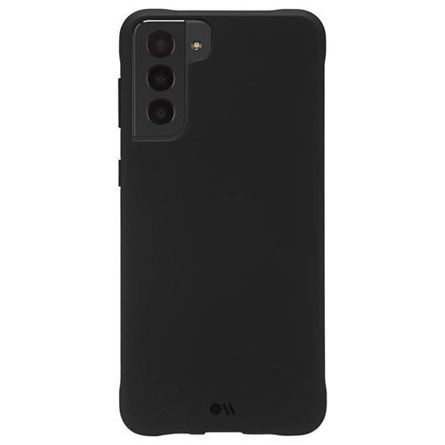 Case Mate Tough Black Samsung Galaxy S21 Plus 5G Phone Case Cushioned Corners Soft Flexible Sides Non Toxic BPA Free Plastic