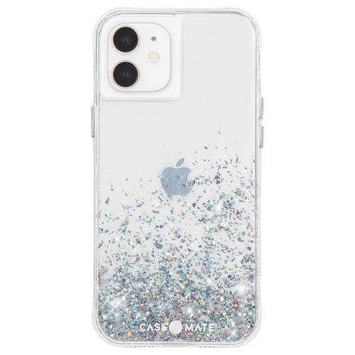 Case Mate Twinkle Ombre iPhone 12 iPhone 12 Pro Phone Case Micropel Antimicrobial Protection Drop Proof Dust Resistant Scratch Resistant