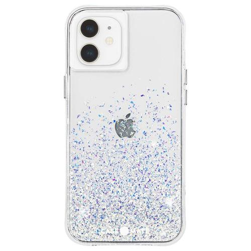 Case Mate Twinkle Stardust Ombre iPhone 12 iPhone 12 Pro Phone Case Micropel Antimicrobial Protection Dust Resistant Scratch Resistant Drop Proof
