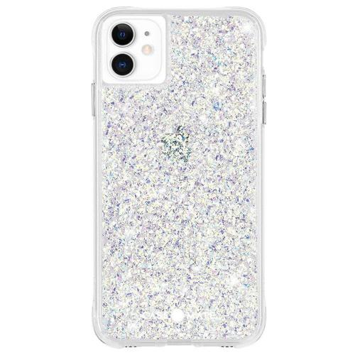Case Mate Twinkle Stardust iPhone 12 iPhone 12 Pro Phone Case Micropel Antimicrobial Protection Dust Resistant Scratch Resistant Drop Proof