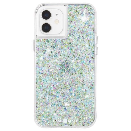 Case Mate Twinkle Confetti iPhone 12 Mini Phone Case Micropel Antimicrobial Protection Drop Proof Dust Resistant Scratch Resistant