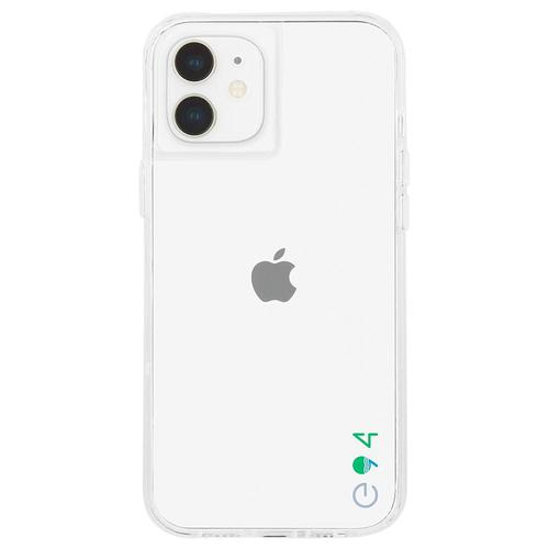 Case Mate ECO94 Eco Clear iPhone 12 Pro Max Phone Case Micropel Antimicrobial Protection Drop Proof Dust Resistant Scratch Resistant