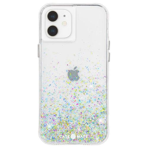Case Mate Twinkle Confetti Ombre iPhone 12 Pro Max Phone Case Micropel Antimicrobial Protection Drop Proof Dust Resistant Scratch Resistant