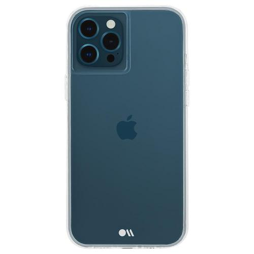 Case Mate Tough Clear iPhone 12 Pro Max Phone Case Cushioned Corners Soft Flexible Sides Non Toxic BPA Free Plastic