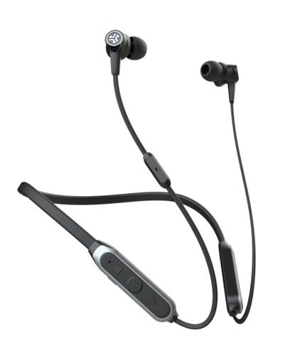 JLab Audio Epic Headphones In Ear Neck Band 3.5mm Connector And Bluetooth 5 Connectivity Active Noise Cancellation 3 Different Modes Black