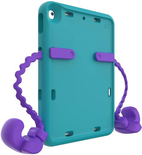 Speck Apple iPad 7th Generation 10.2 Inch 2019 Gen Purple Teal Tablet Case E with Detachable Arms