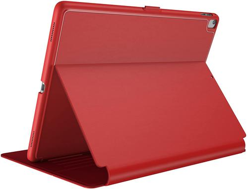 Speck Balance Folio Apple iPad Pro 10.5 Inch 2017 Red Tablet Case Adjustable Stand Scratch Resistant Shock Resistant
