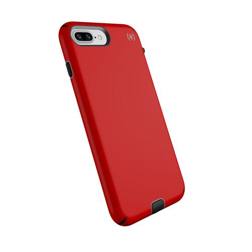Speck Presidio Sport Red Grey iPhone 8 Plus Phone Case Antimicrobial Technology Two Layers of Protection