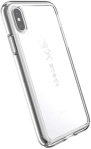 Speck Gemshell Apple iPhone X XS Clear Phone Case UV Resistant Polycarbonate Outer Shell with a Second TPU Layer