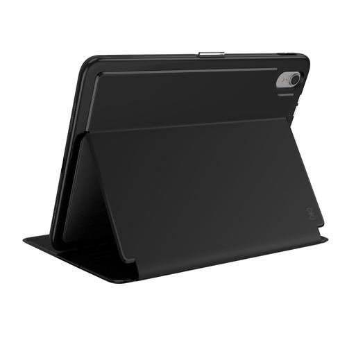 Speck Presidio Pro Folio Apple iPad Pro 11 Inch 2018 Black Tablet Case IMPACTIUM Shock Barrier Bump Resistant Scratch Resistant UV Resistant