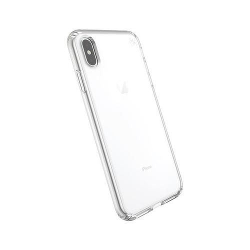 Speck Presidio Stay Clear Apple iPhone XS Max Clear TPU Phone Case IMPACTIUM Shock Barrier UV Resistant Scratch Resistant