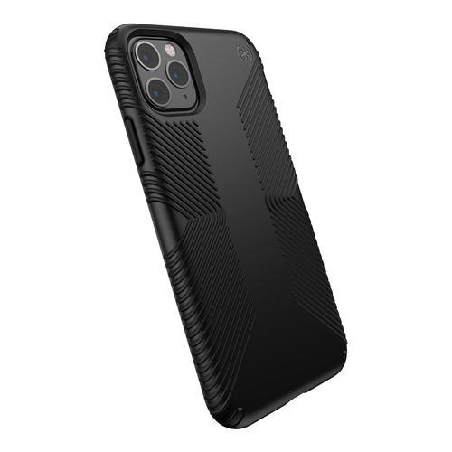 Speck Presidio Grip iPhone 11 Pro Max Black Phone Case Bump Resistant Dust Resistant Scratch Resistant