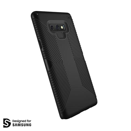 Speck Presidio Grip Samsung Galaxy Note 9 Black Phone Case IMPACTIUM Shock Barrier No Slip Grip Scratch Resistant Shock Resistant