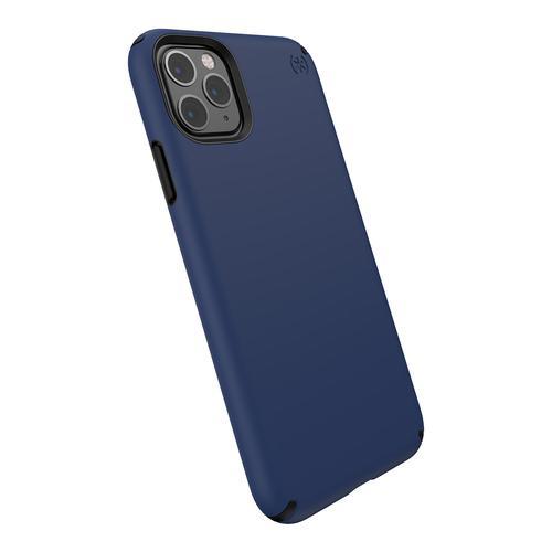 Speck Presidio Pro iPhone 11 Pro Max Coastal Blue Black TPU Phone Case IMPACTIUM Shock Barrier Bump Resistant Dust Resistant Scratch Resistant