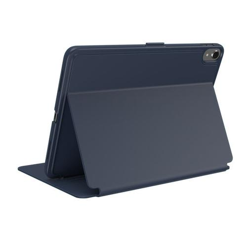Speck Balance Folio iPad Pro 11 Inch Eclipse Blue Tablet Case Raised Edge to Protect the Screen Durable PU Leather Scratch Resistant Shock Resistant