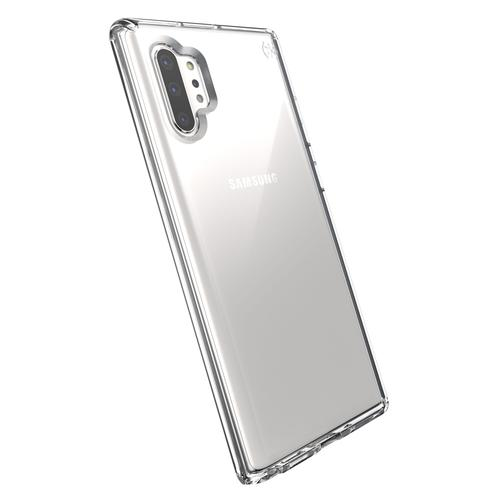 Speck Presidio Stay Clear Samsung Galaxy Note 10 Plus Clear Phone Case Antimicrobial Bump Resistant Oil Resistant Scratch Resistant UV Resistant