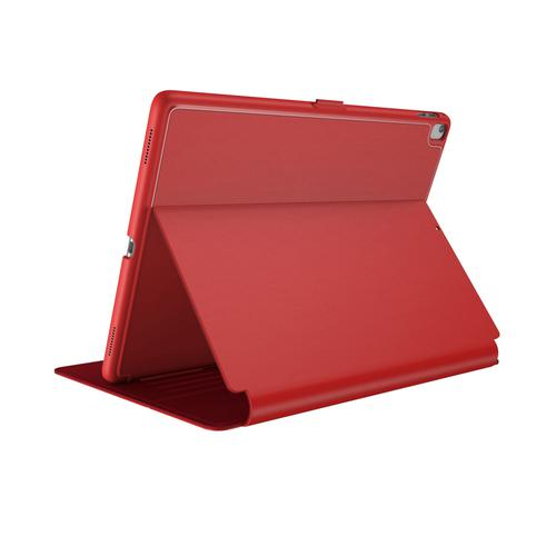 Speck Balance Folio Case Apple iPad Air 10.5 Inch 2019 Dark Poppy Red Tablet Case Bump Resistant Scratch Resistant