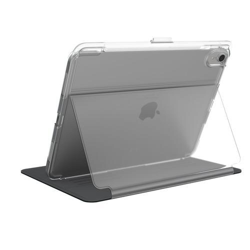 Speck Balance Folio Clear Apple iPad Pro 11 Inch 2018 Black Clear TPU Tablet Case Bump Resistant Scratch Resistant