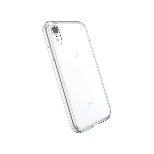 Speck Presidio Stay Clear iPhone XR Phone Case Drop Proof Dust Resistant Oil Resistant Scratch Resistant UV Resistant