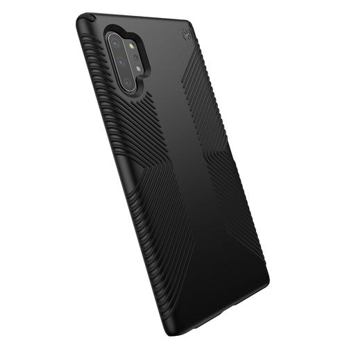 Speck Presidio Grip Samsung Galaxy Note 10 Plus Black Phone Case 13 Foot drop Protection